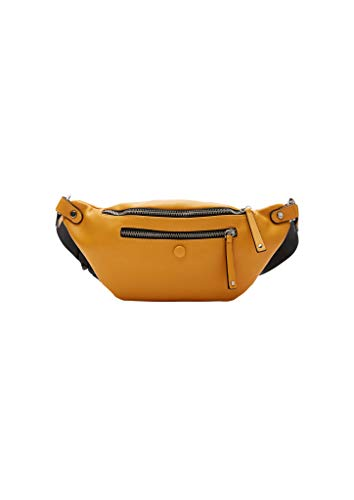 s.Oliver Damen Belt Bag mit Zippern yellow 1