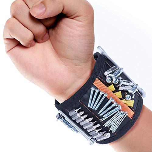 Geschenke für Männer Magnetarmband Armband für Handwerker Bestes Männer Geschenke Magnetisches Armband- Magnetisches Armband für Männer - Vatertagsgeschenk - Geschenk für Vater